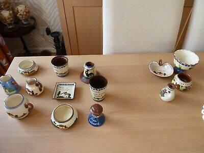 Collection Of Torquay Ware • 15£