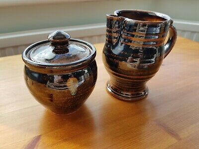 Ted Hughes Burford House Pottery Jug And Bowl • 5.99£