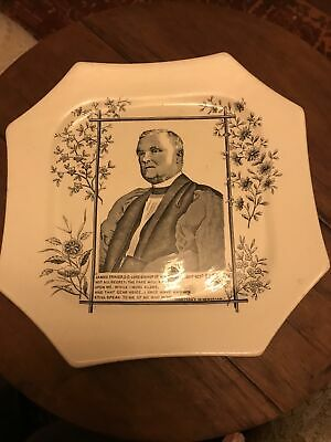 James Fraser Lotd Bushop Of Manchester Collectible Plate • 10£