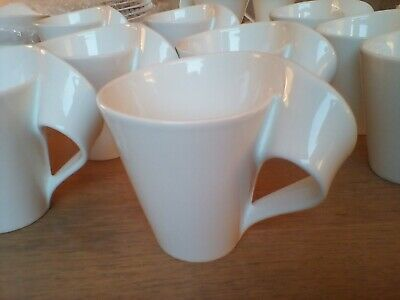 Villeroy&Boch Beautiful New Wave Coffee Mugs Set Of 6 Excellent No Chips/stains • 75£