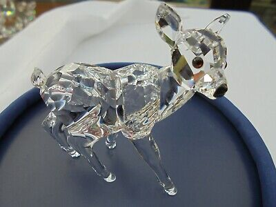 Swarovski Fawn Deer Standing Mint Boxed • 20£