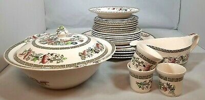 Vintage Indian Tree Table Ware • 6£