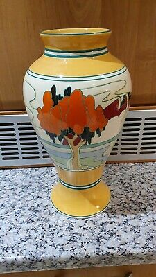 Clarice Cliff Mei Ping Wedgwood Vase - Solitude Pattern - Limited Edition • 200£