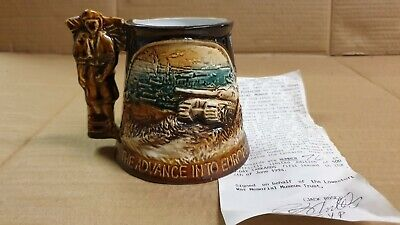 Advance Into Europe ... Beach Head Ltd Ed Great Yarmouth Pottery Tankard Mug  • 7.95£