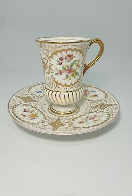 Coalport Cabinet Cup And Saucer • 21£