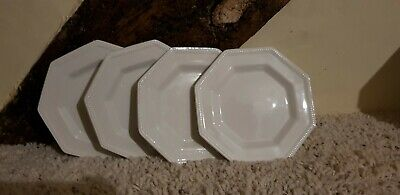 Johnson Brothers Heritage White  6   Bread Plates X 4 • 7.99£