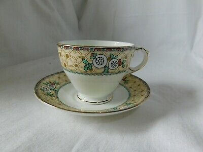 George Jones Crescent China Cup And Saucer • 3.50£