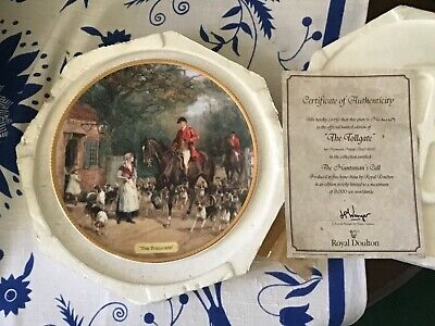 Vintage Royal Doulton THE TOLLGATE / THE HUNTSMAN CALL LIMITED EDITION • 8.99£