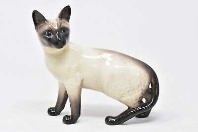 Beswick Siamese Cat Figurine Standing Ornament Porcelain China Vintage  • 19.99£