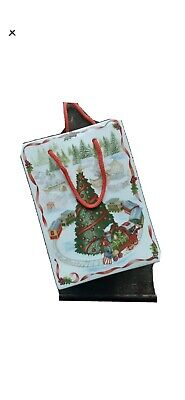 Villeroy And Boch Christmas Toy's Fantasy Vase/gift Bag New • 45£
