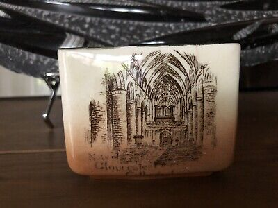 RARE ROYAL DOULTON SERIESWARE SMALL POT - HISTORIC TOWNS, Gloucester Gloster • 74.99£