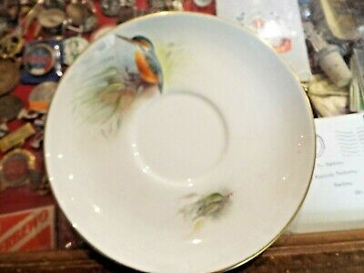 Royal Worcester Hand Painted Kingfisher Large Saucer No Damage • 10£
