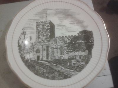 St.Mary & Saint Bardulph Breedon-on-the-Hill 1300th Anniversary Plate • 23£