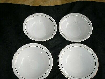 Royal Worcester  CONTESSA LARGE 4 X CEREAL  BOWLS   EXCELLENT CONDITION • 18£