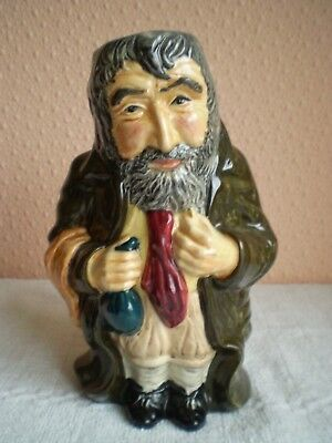 Roy Kirkham Pottery Toby Jug - 'Fagin' From Oliver Twist - Made In England • 16£