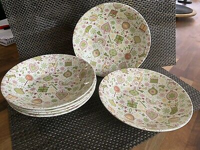 Quuens Yuletide Dinner Plates And Bowls • 0.99£