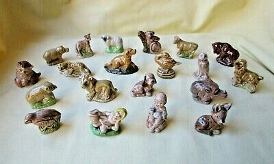 Wade Whimsies Small Collection Of 20 Pieces ( Lot 1) • 10£
