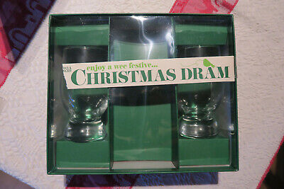 Pair M&s Marks And Spencer Whisky Tasting Glasses Part Of The Gift Set Wee Dram • 2.50£