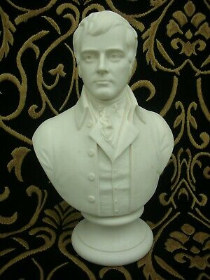 Burns - Robbie - Minton Parian Bust - Lovely Condition. • 130£