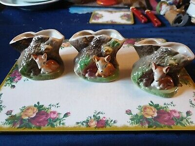 Eastgate Withernsea Pottery Fauna X3 • 7£