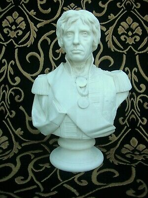 LORD NELSON PARIAN BUST - Josh Pitts Sc - John Rose Victorian Pottery 1853. • 375£