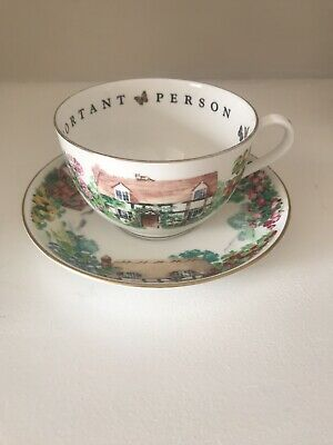 Royal Worchester Fine Bone China - Cup & Saucer • 21.50£