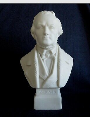 A Fine Parian Ware Bust Of The Composer WARGNER  • 35£
