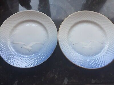 Bing And Grondhal Kopenhagen Denmark Seagull Plates X2. Collectors Items. • 10£