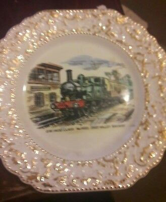 Dart Valley Railway Commemorative Plate.G.W.1400 Class No.1420 • 15£