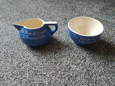 The Blue Of Devon Ilfracombe Jug And Bowl • 0.99£