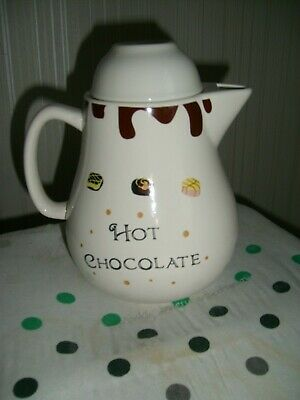 Hot Chocolate Pot  -  Height 8 Inches • 8£