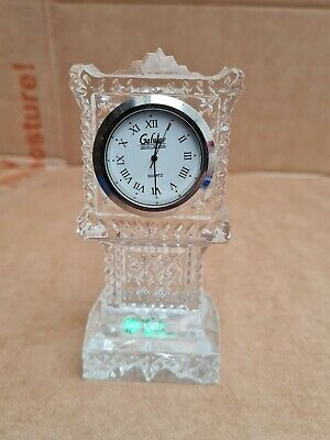 Galway Crystal Grandfather Clock • 15£