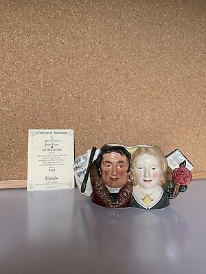 Royal Doulton D7115 Jane Eyre & Mr Rochester Character Jug Limited Edition • 40£