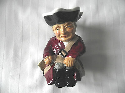 Staffordshire / Roy Kirkham / Toby Jug / Hand Painted With Tag • 19.99£