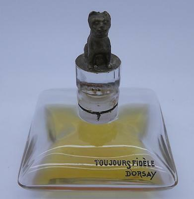 Toujours Fidele D'orsay Scent Bottle By Baccarat • 395£