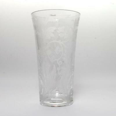 Christofle  Marly  Etched Crystal Vase 11.75  • 328.82£