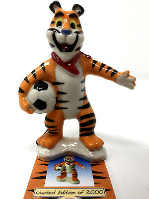 Wade Tony The Tiger Football Crazy Figure Boxed + Certificate Kellogg's Frosties • 19.99£