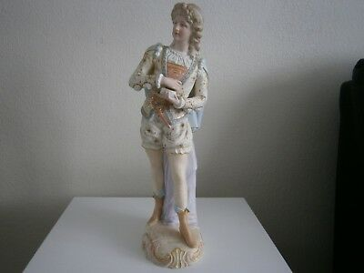 Very Old Parion Figure Of A Young Man • 5£