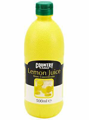Country Range Lemon Juice - 1x500ml • 9.99£