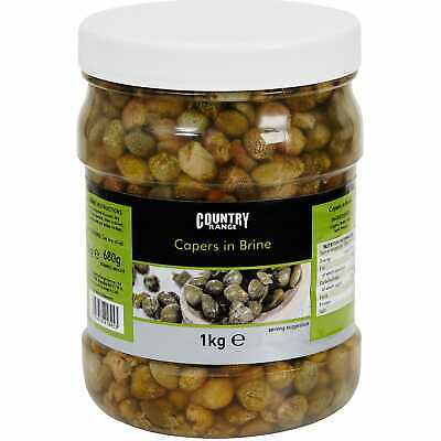 Country Range Capers In Brine - 1x1kg • 13.99£
