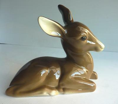 Vintage Midwinter Porcelian Deer Ornament - Very Good Condition • 19.99£