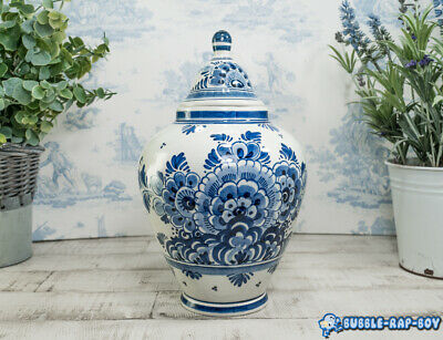 Temple Jar Delft Delfter Blau Holland Blue And White • 59.99£