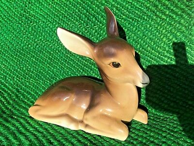 1930s W R Midwinter Porcelain Deer / Fawn Figurine • 65£