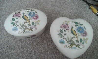 Purbeck Pottery Poole Dorset Trinket Boxes • 10£