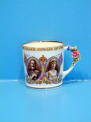 Paragon Mug - Silver Jubilee Of King George & Queen Mary 1910 - 1935 • 9.99£