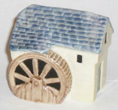 Very Rare Carlton Ware Pottery Village Series The Watermill Ornament Handpainted • 37.99£
