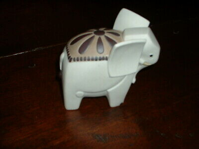 Pottery Collectible Elephant Signed Underneath • 24.99£