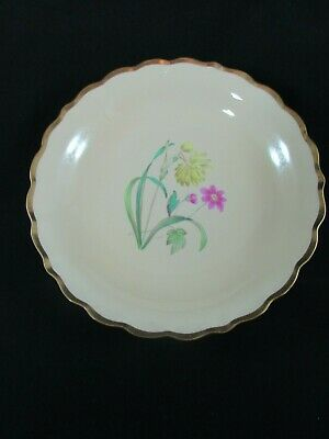 Copeland Spode Hand Painted Circular Dish By A. Ball C.1935 • 40£