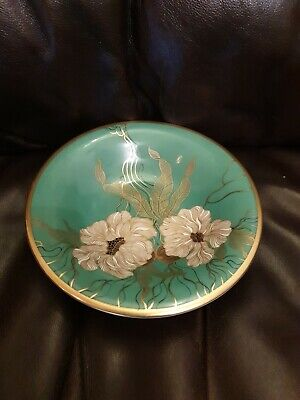 Rosenthal Germany Floral Gold Gilded Footed Bowl 6.5  Approx  • 15£