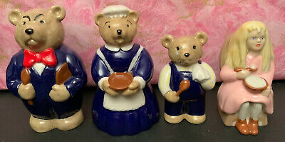 Wade Goldilocks & The Three Bears - Full Set Of 4 - 1996 - Excellent Condition • 50£